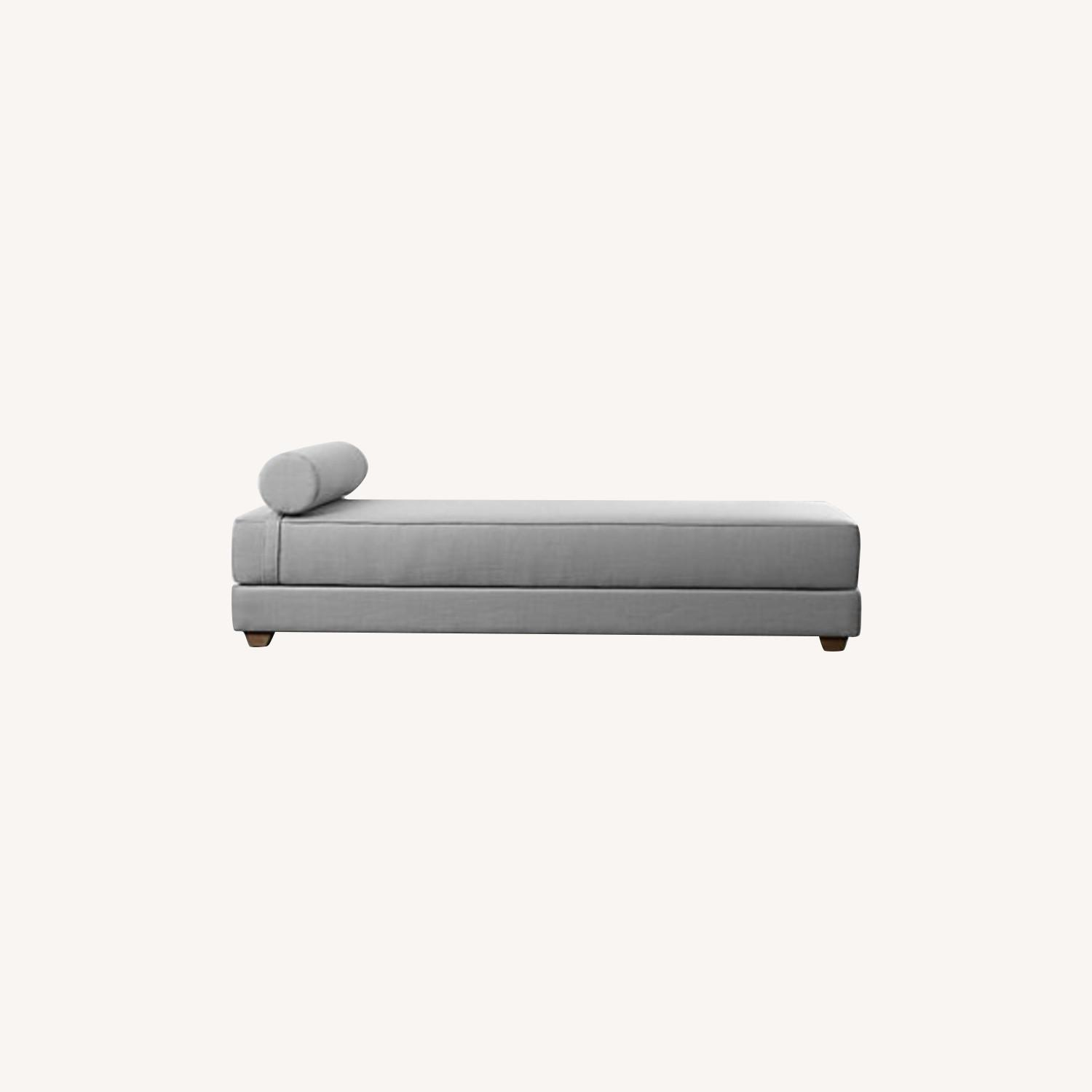 CB2 Lubi Brown Daybed - image-0