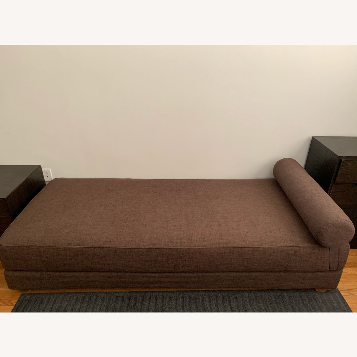 CB2 Lubi Brown Daybed - image-3