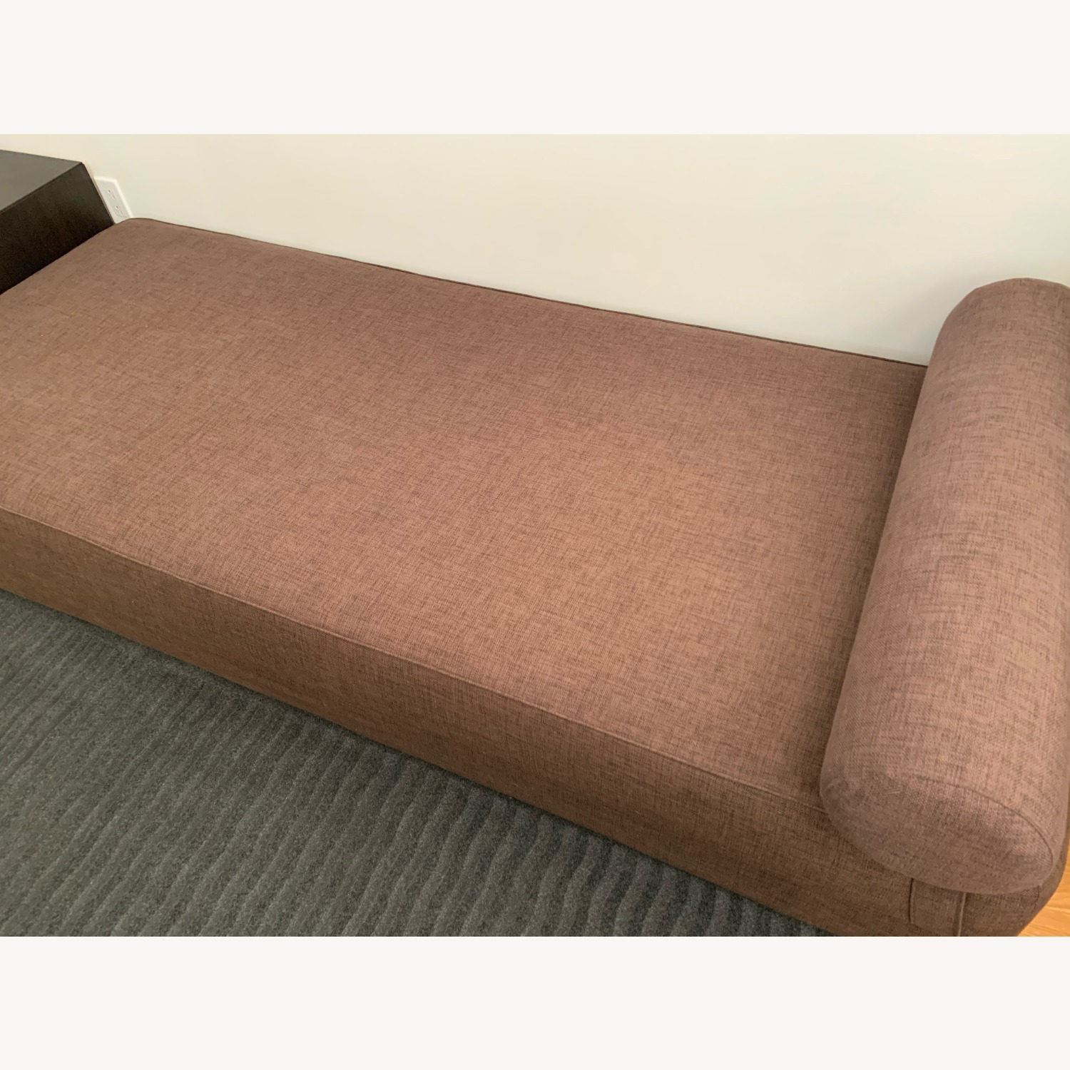 CB2 Lubi Brown Daybed - image-2
