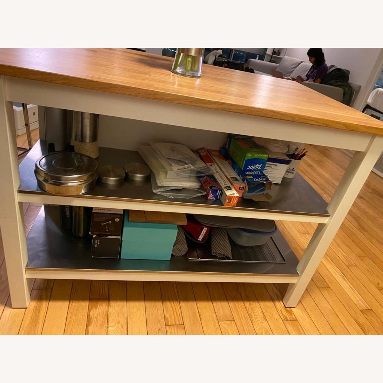 Ikea Kitchen Island With Seating And Storage Space Aptdeco