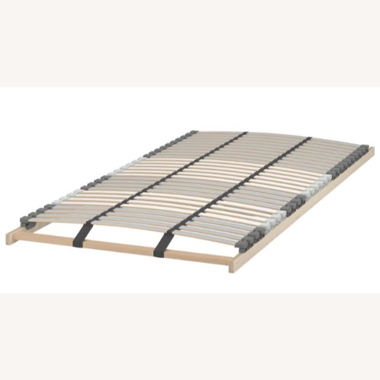 IKEA Malm King Brown Bed - image-1