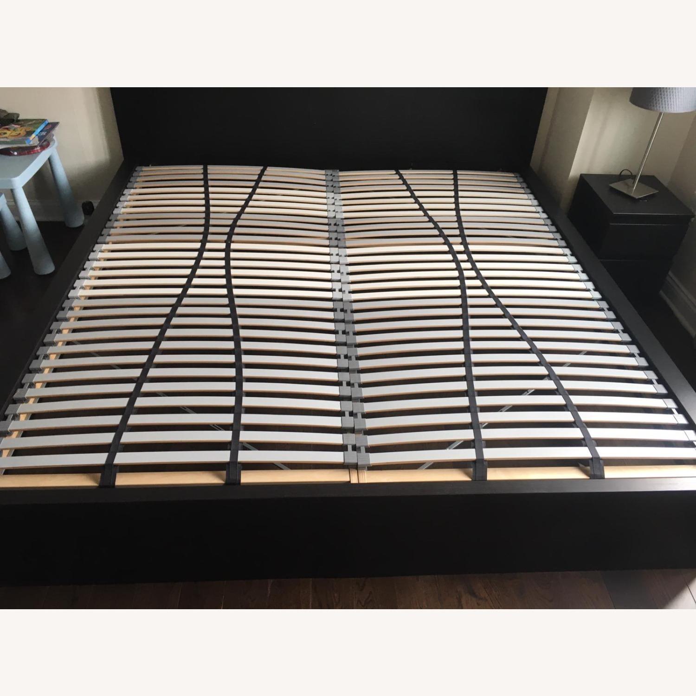 IKEA Malm King Brown Bed - image-8
