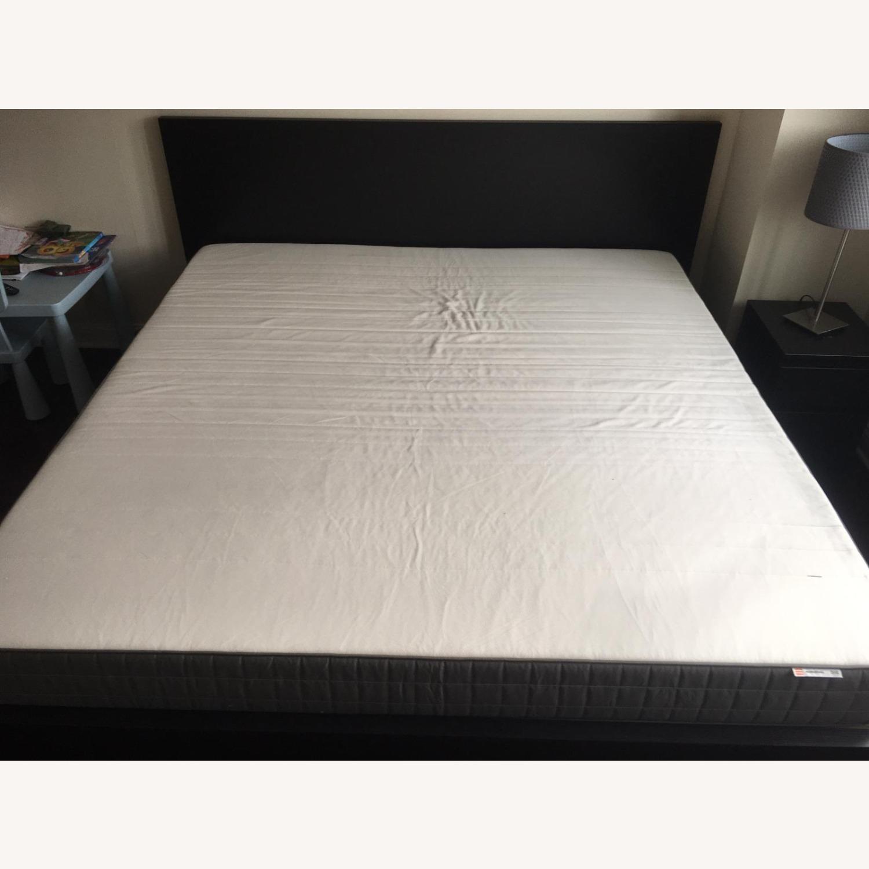 IKEA Malm King Brown Bed - image-7
