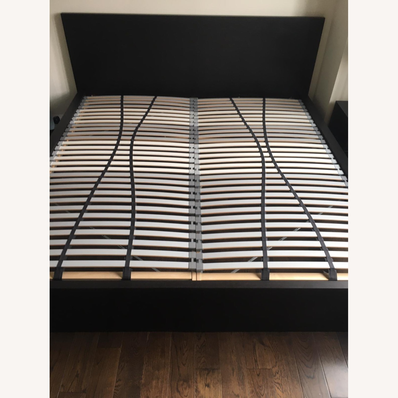 IKEA Malm King Brown Bed - image-6