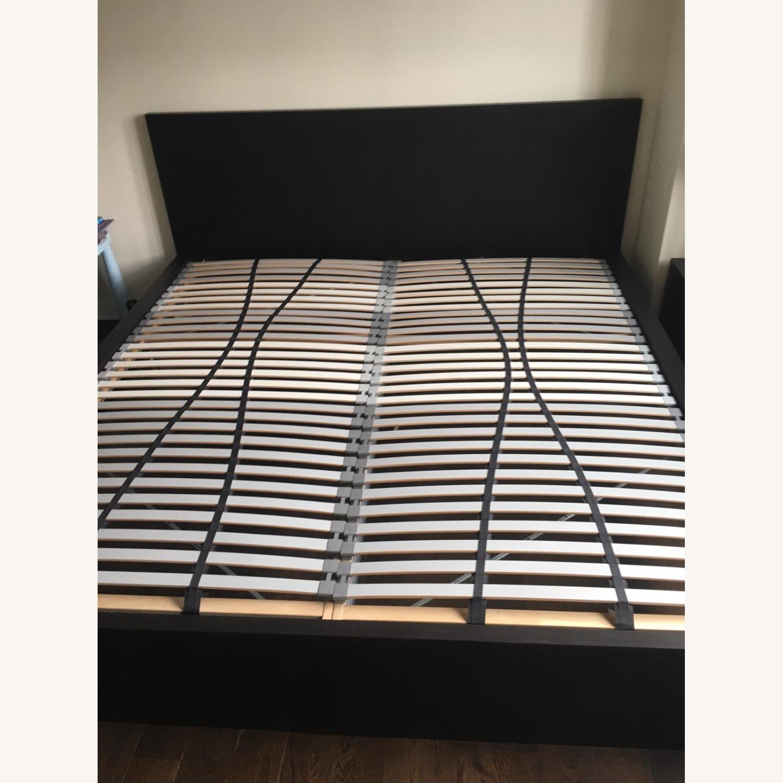 IKEA Malm King Brown Bed - image-9