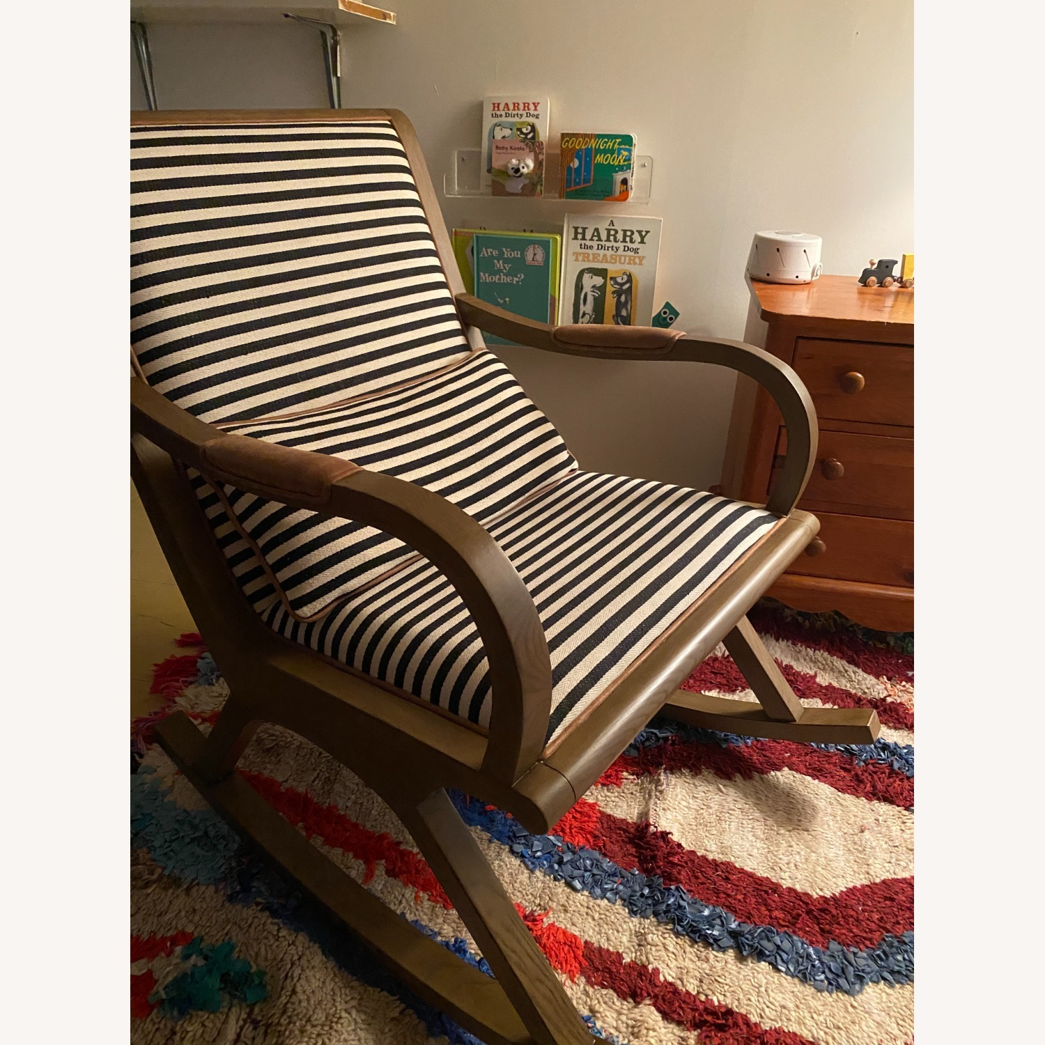 Crate & Barrel Bakersfield Rocking Chair - image-2