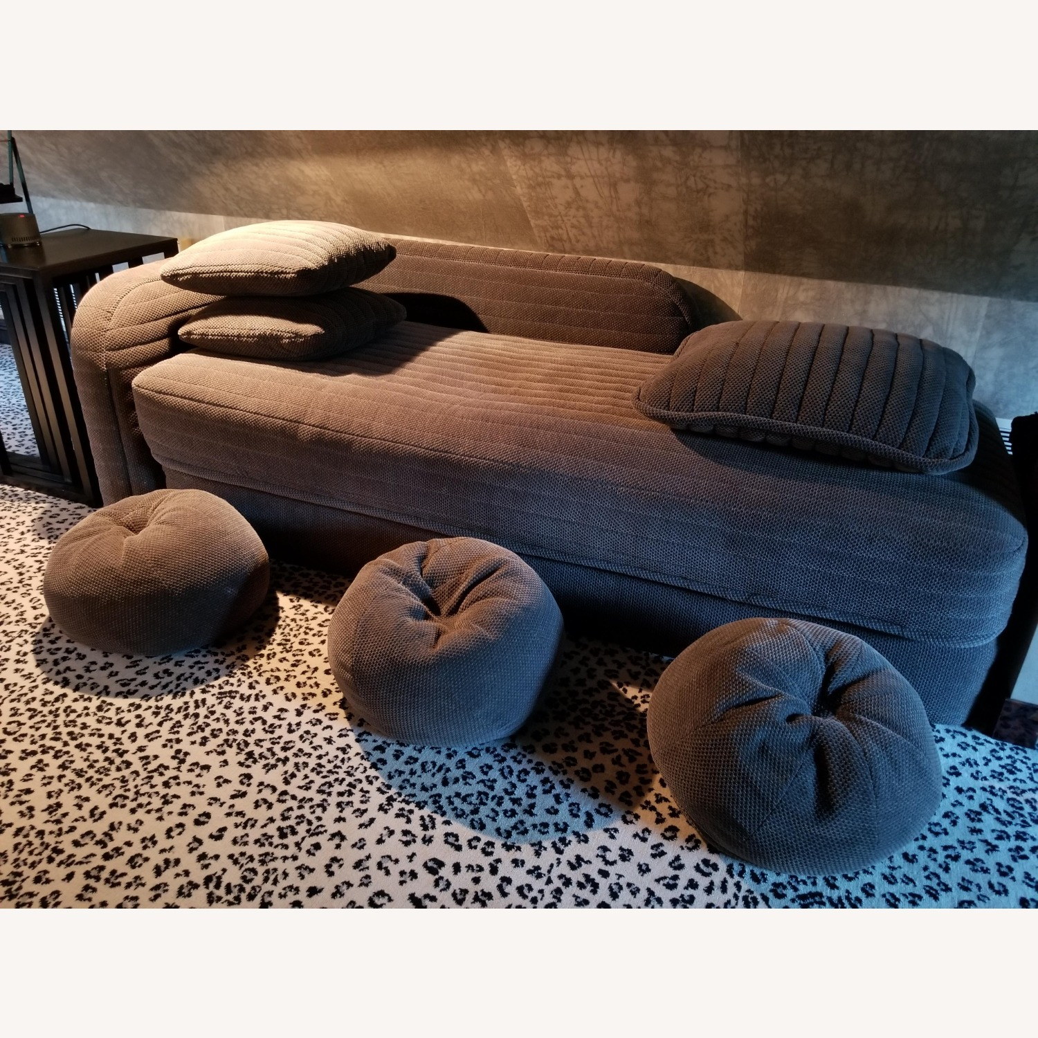 Donghia Daybed W/ Pillows - Queen Fold Out Bed - image-1