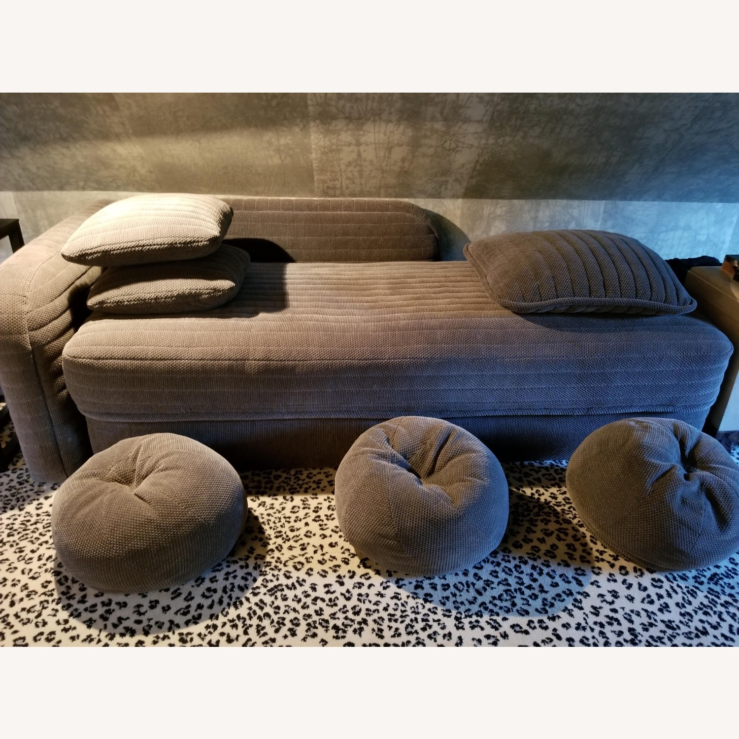 Donghia Daybed W/ Pillows - Queen Fold Out Bed - image-3