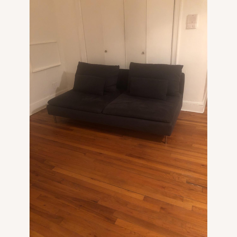 IKEA Dark Grey SDERHAMN Couch - image-1