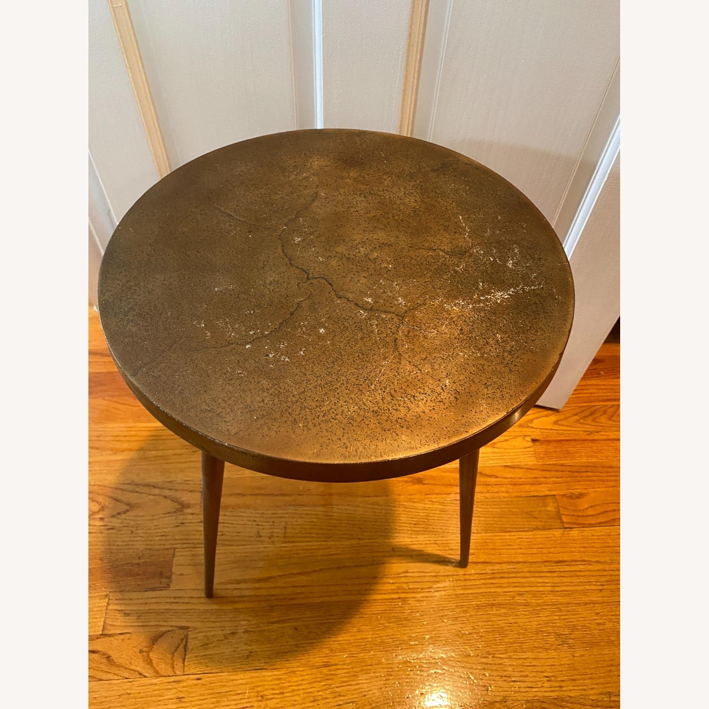 West Elm Cast Tripod Side Table - image-3