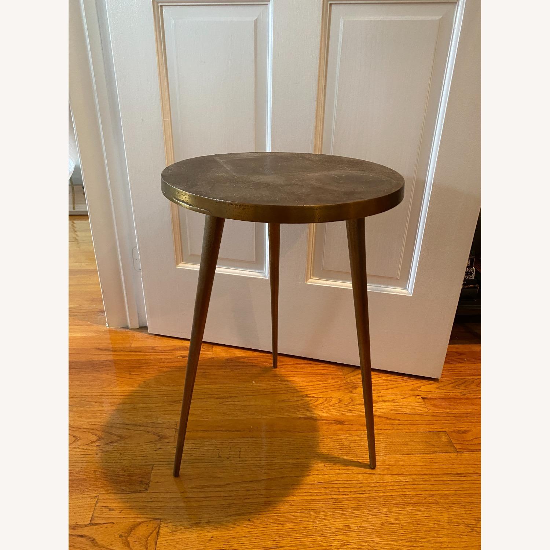 West Elm Cast Tripod Side Table - image-4