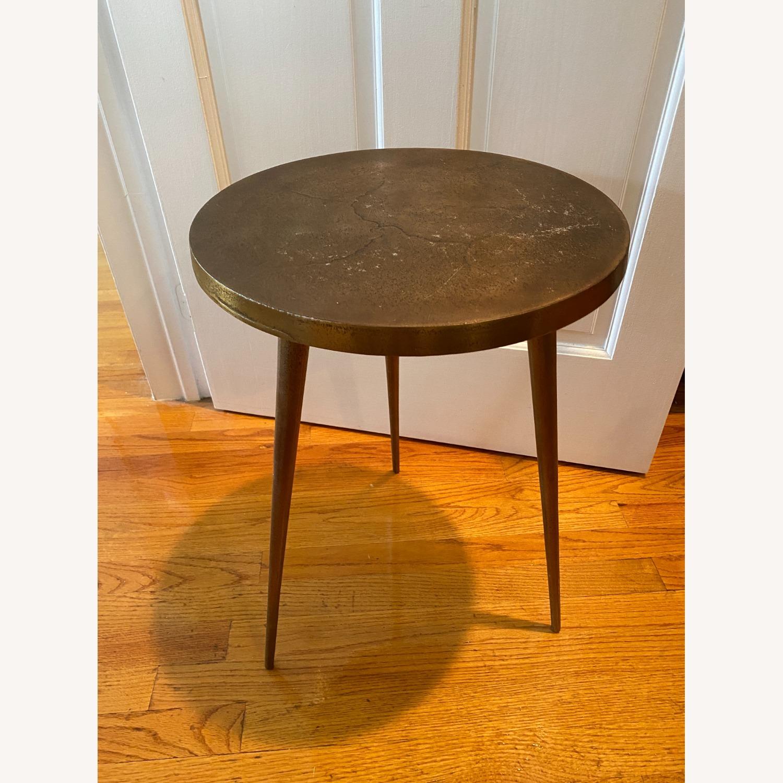 West Elm Cast Tripod Side Table - image-2
