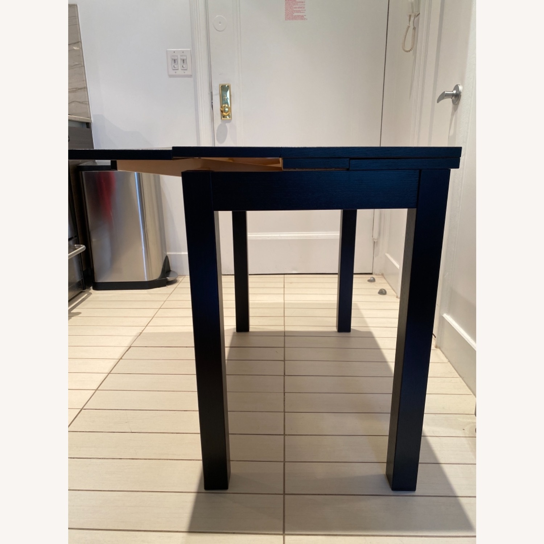 IKEA Expandable Black Desk - image-5