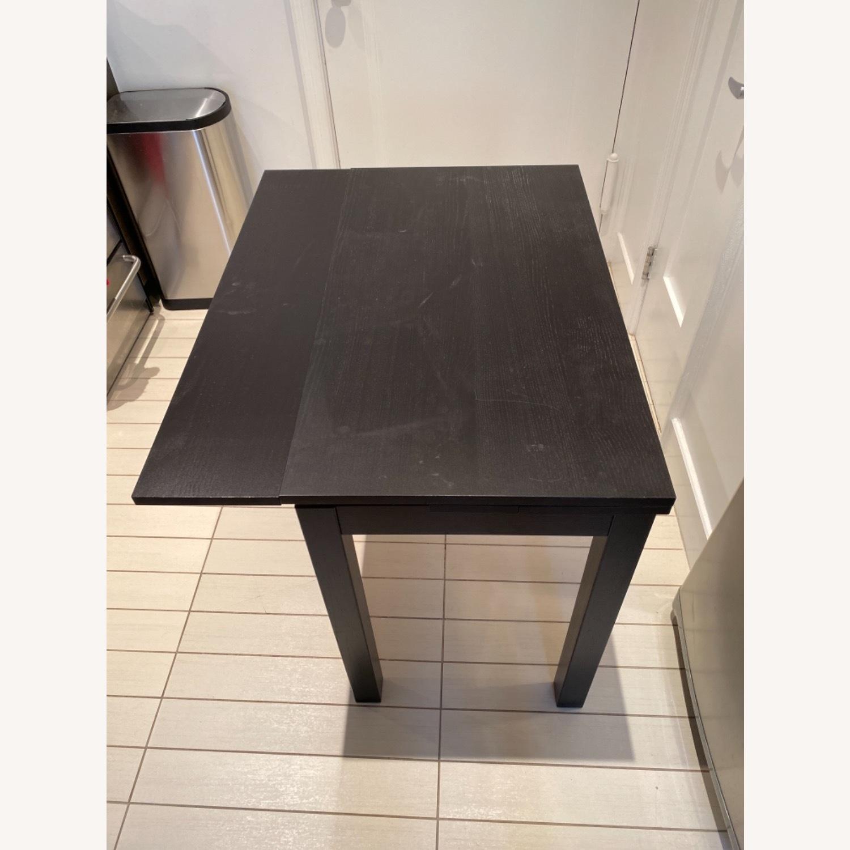 IKEA Expandable Black Desk - image-6