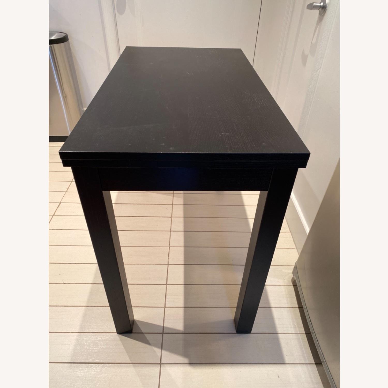 IKEA Expandable Black Desk - image-2