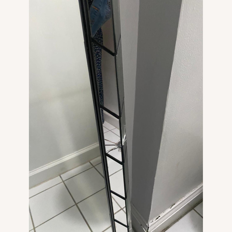 West Elm Chevron Tile Floor Mirror - image-3