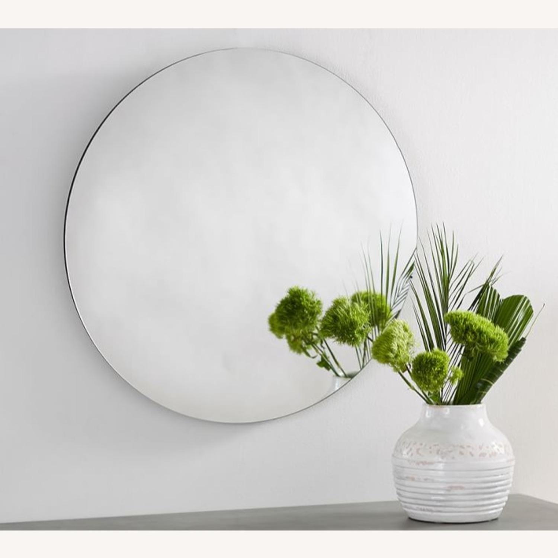 Pottery Barn Turner Mirror, Round - image-1