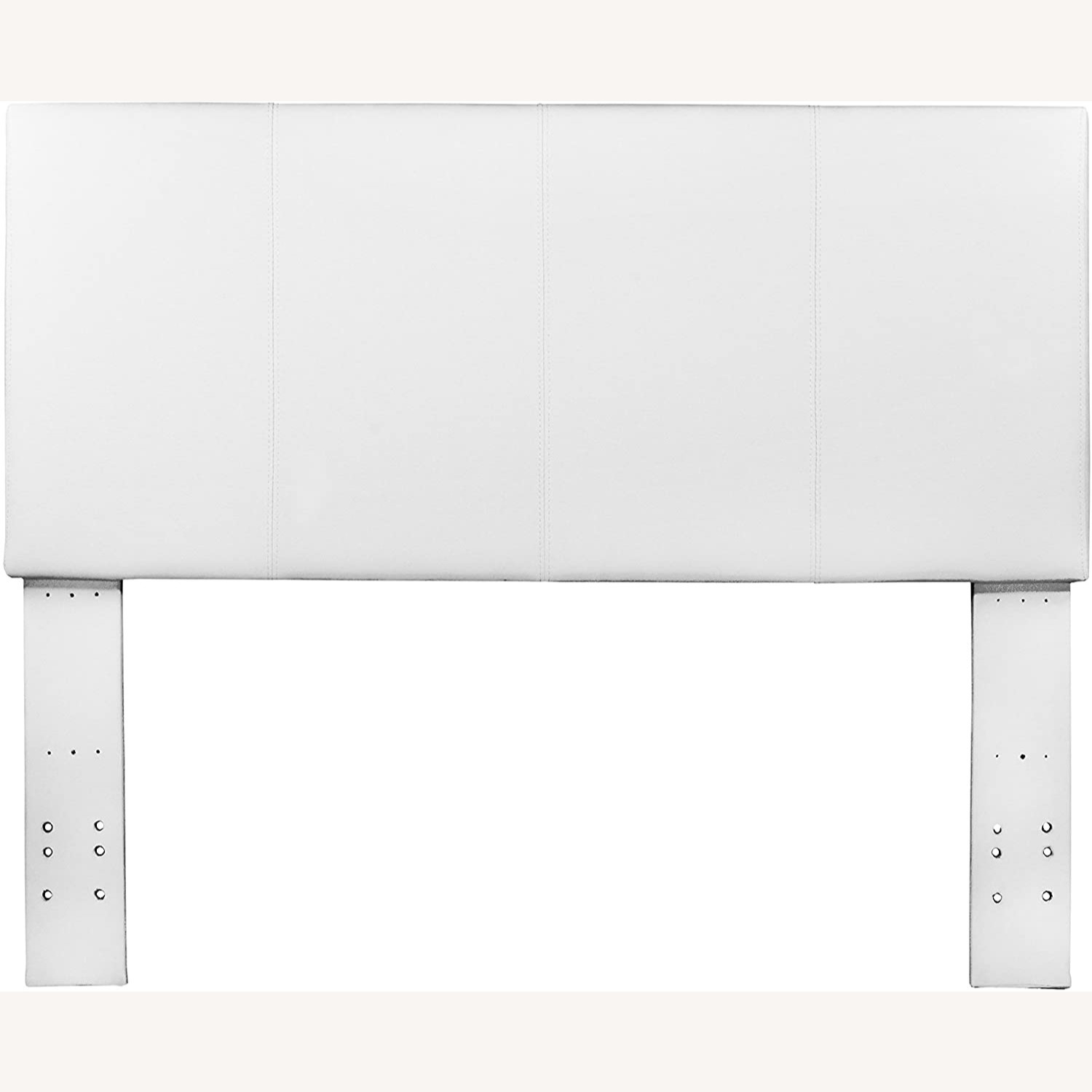 White Queen Size Headboard - image-4