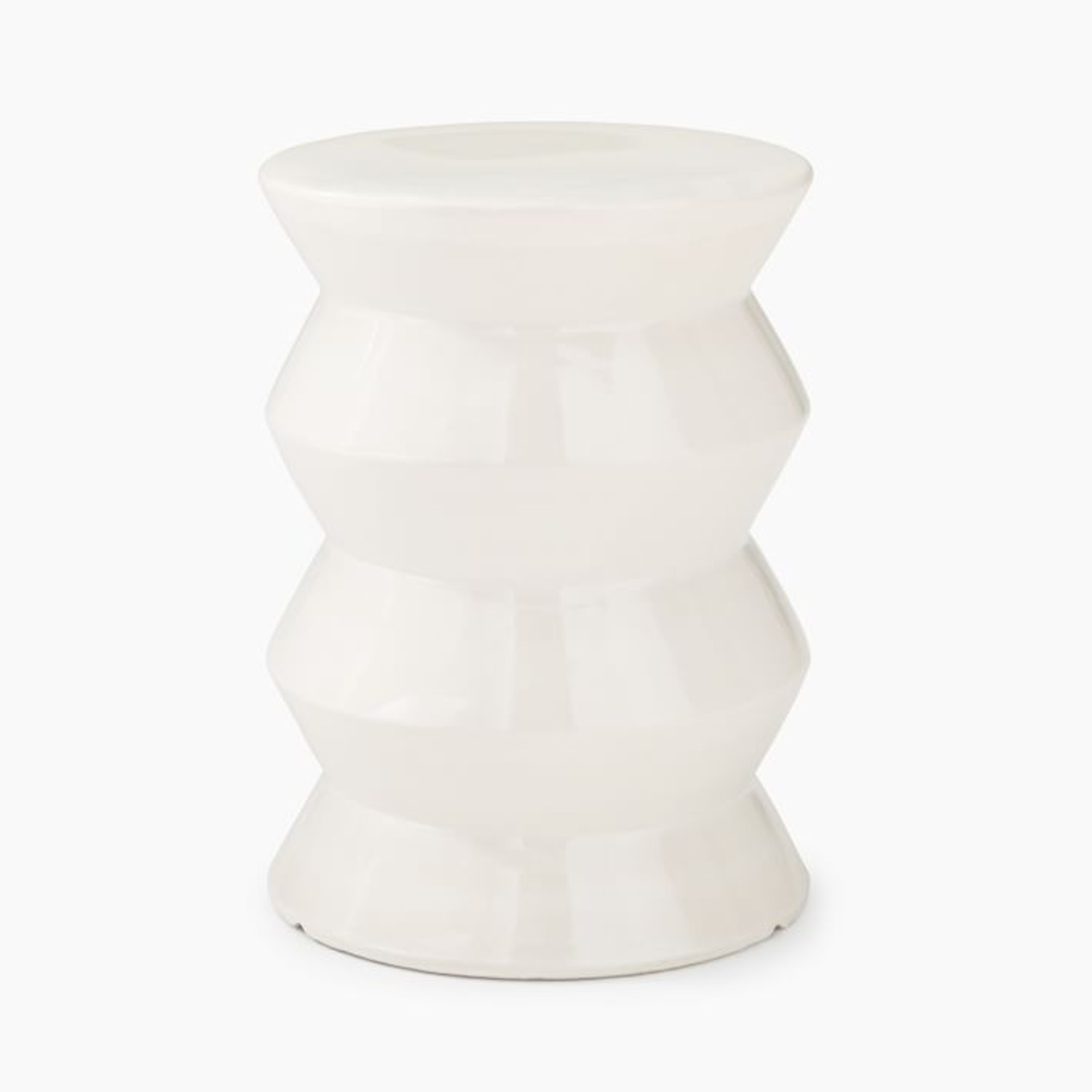 West Elm Cami Ivory Side Table - image-3
