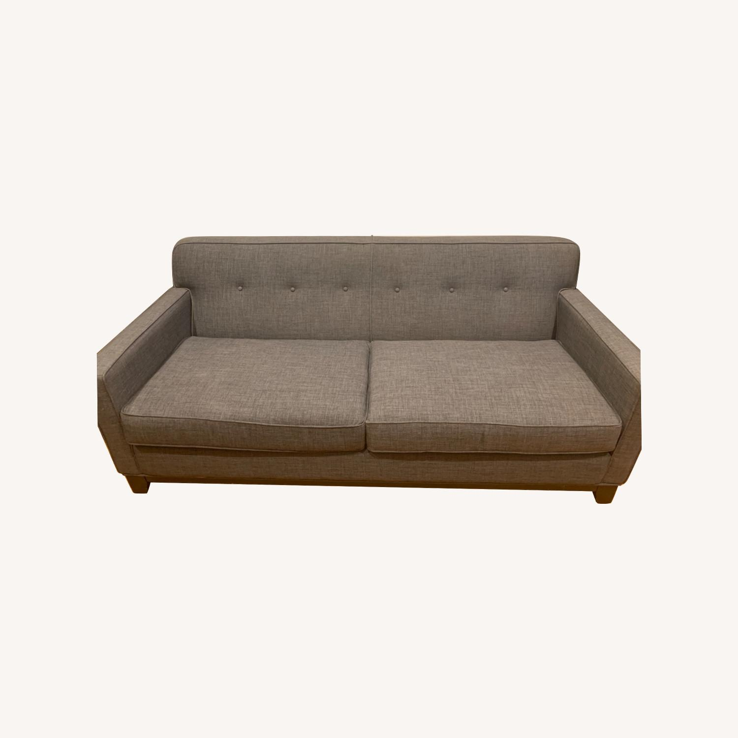 Raymour & Flanigan Mid Century Sofa/Couch - image-0
