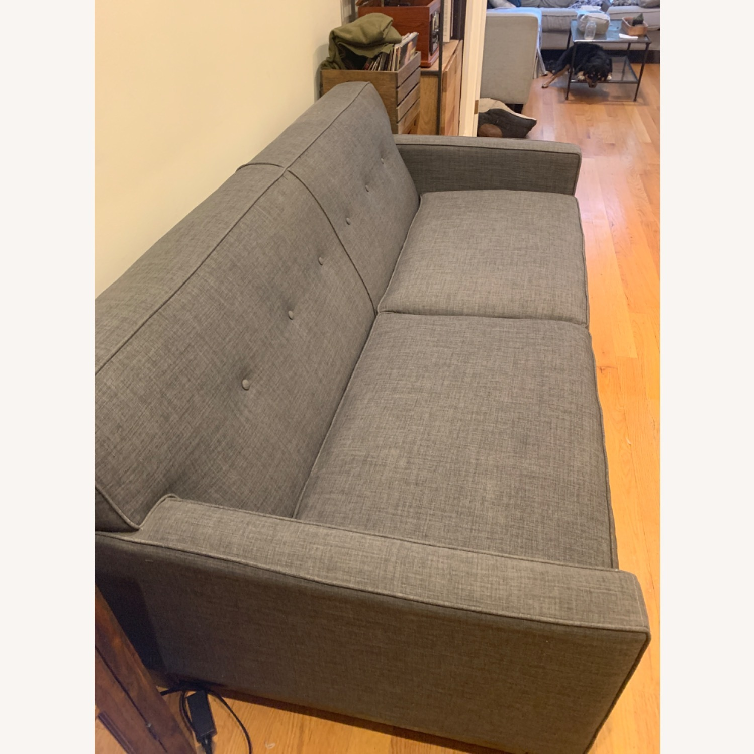 Raymour & Flanigan Mid Century Sofa/Couch - image-3