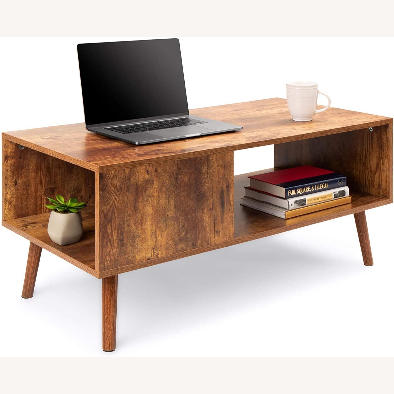 Mid Century Coffee Table - image-9