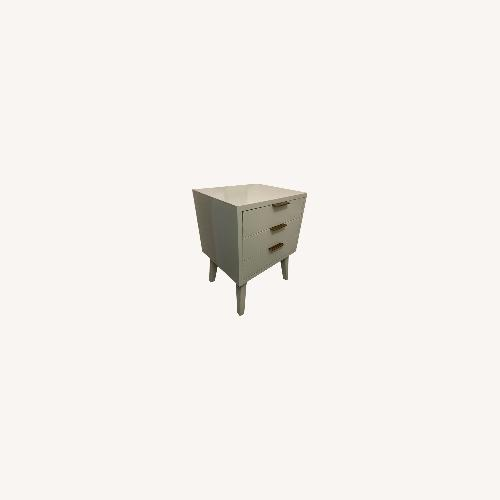 Used Target Green Three Drawer Side Table for sale on AptDeco