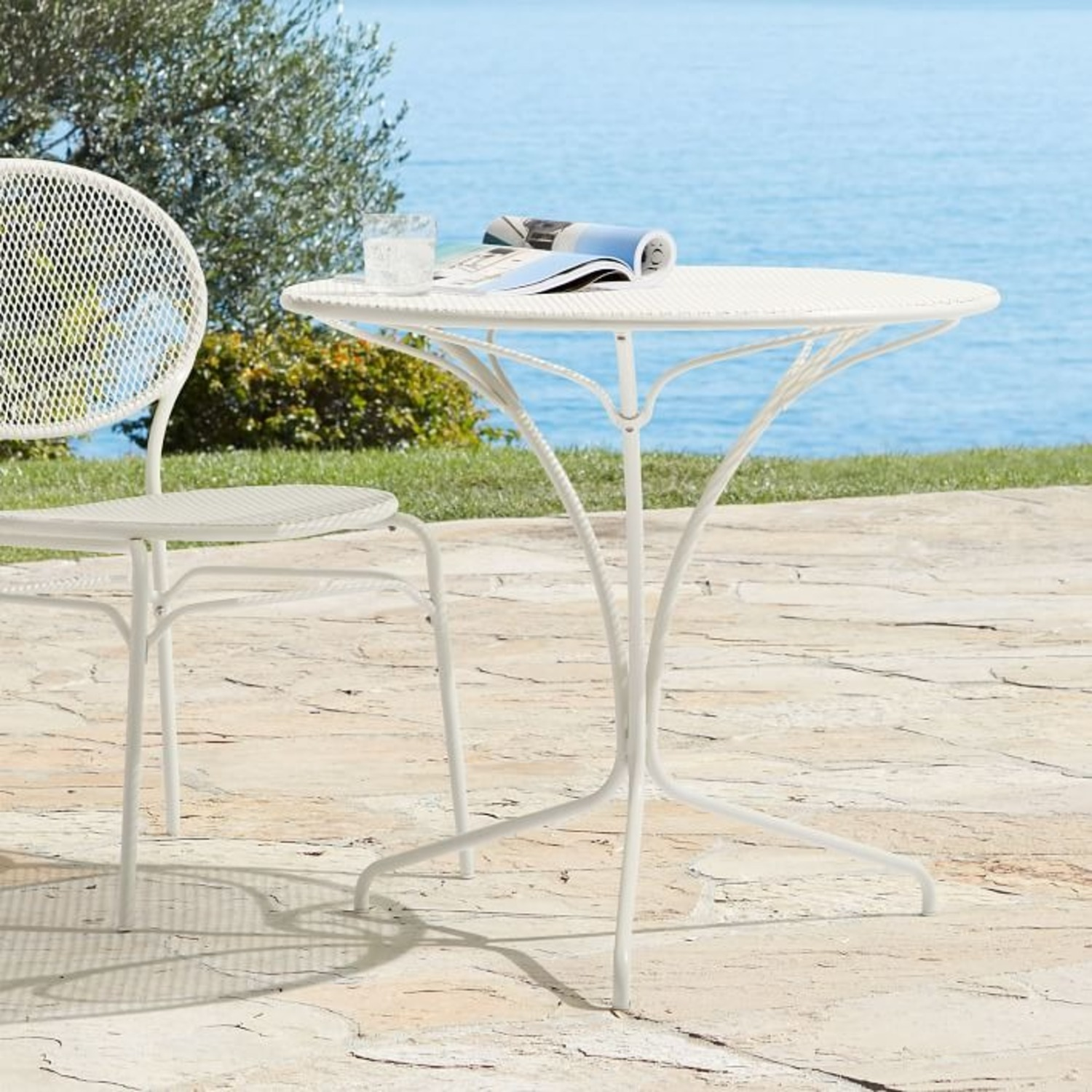West Elm Kyra Outdoor Bistro Table - image-2