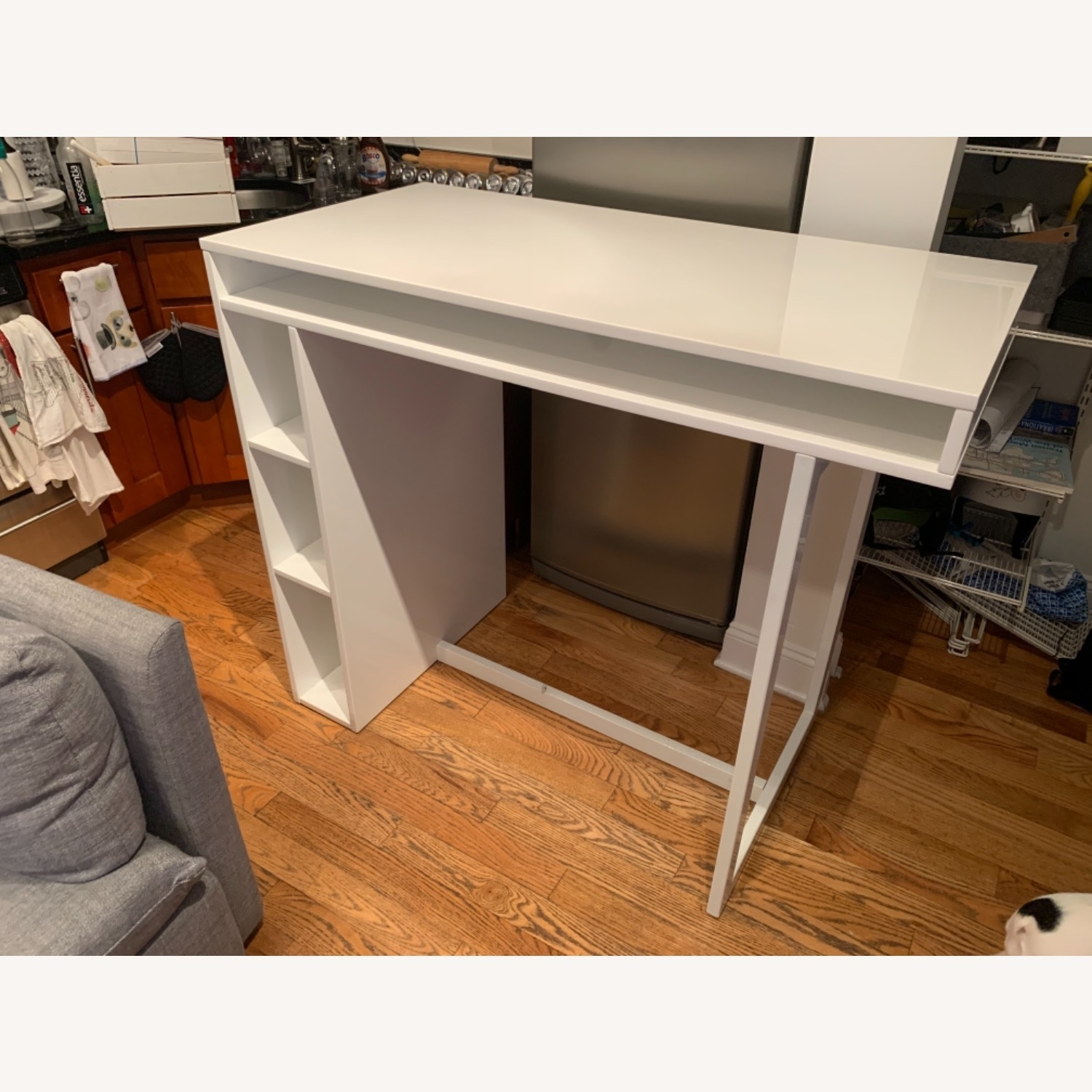 CB2 Bar-Height Dining Table/Desk - image-1