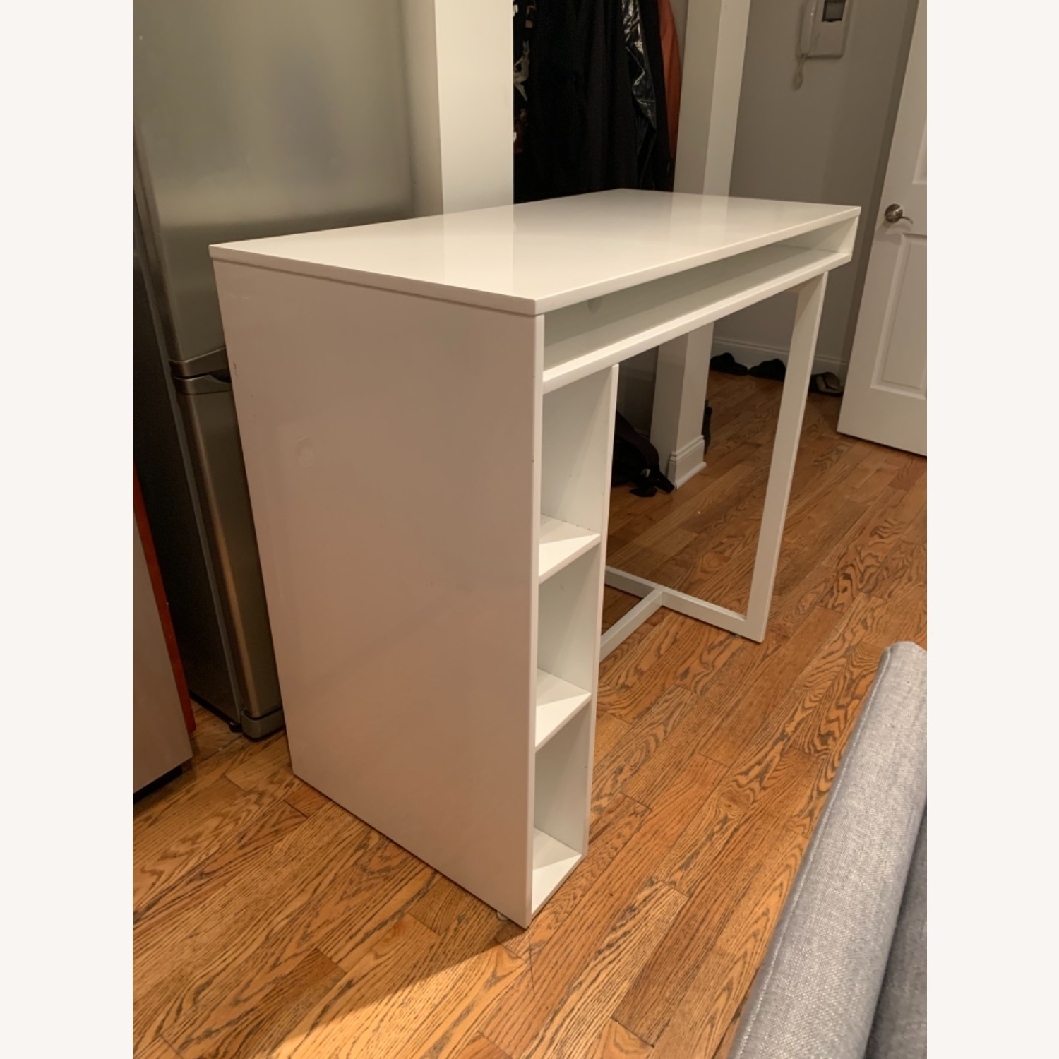 CB2 Bar-Height Dining Table/Desk - image-3