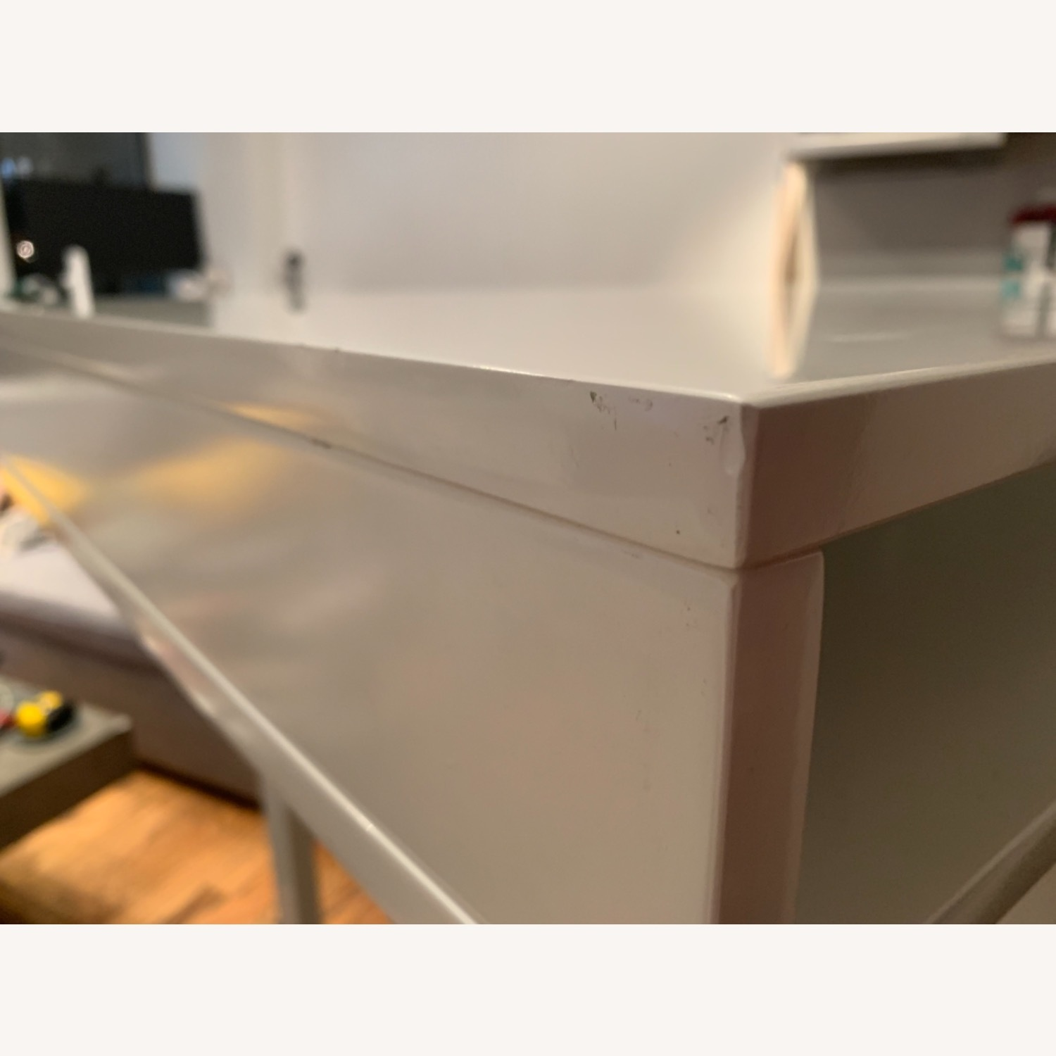 CB2 Bar-Height Dining Table/Desk - image-4