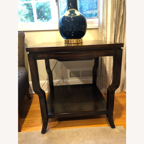 Used Drexel Heritage Square End Table for sale on AptDeco