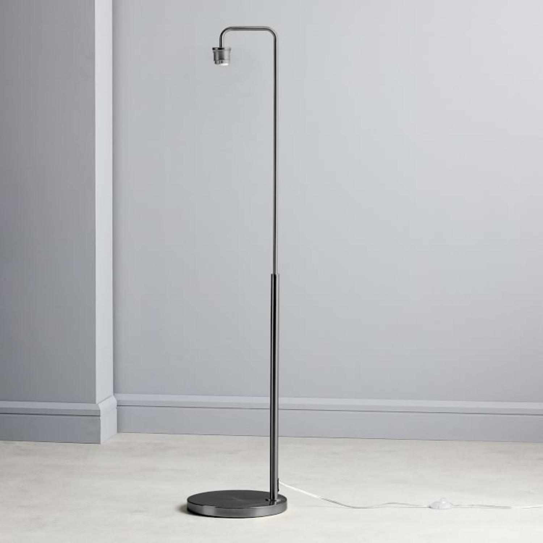 Wes Elm Sculptural Glass Floor Lamp - image-1
