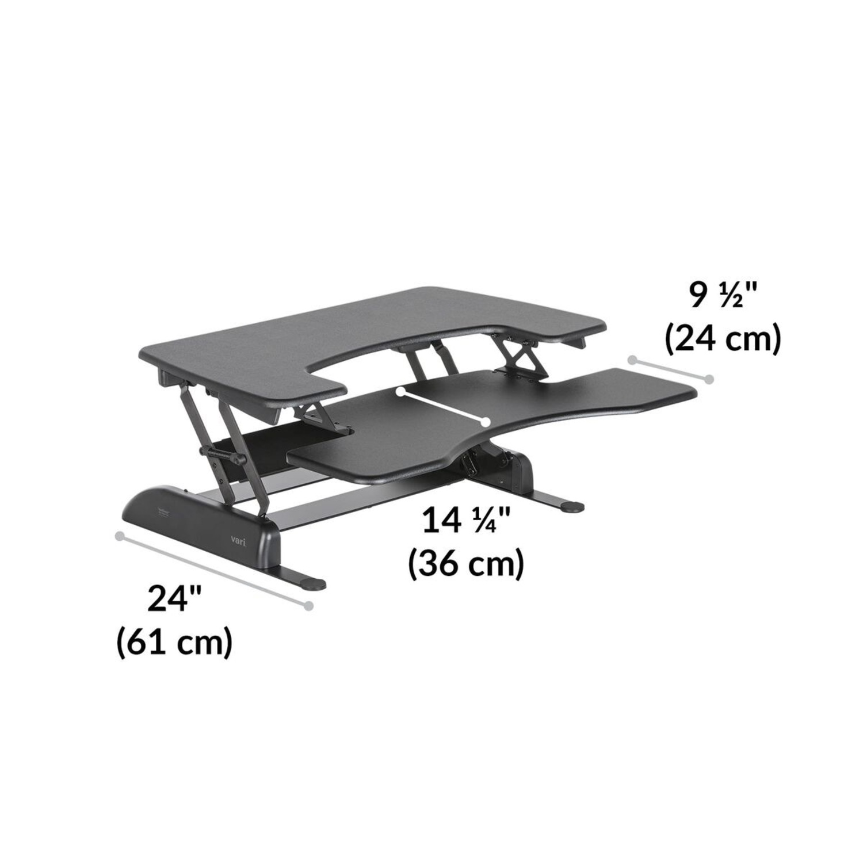 CISCO Brothers VariDesk Standing Desk Converter - image-3