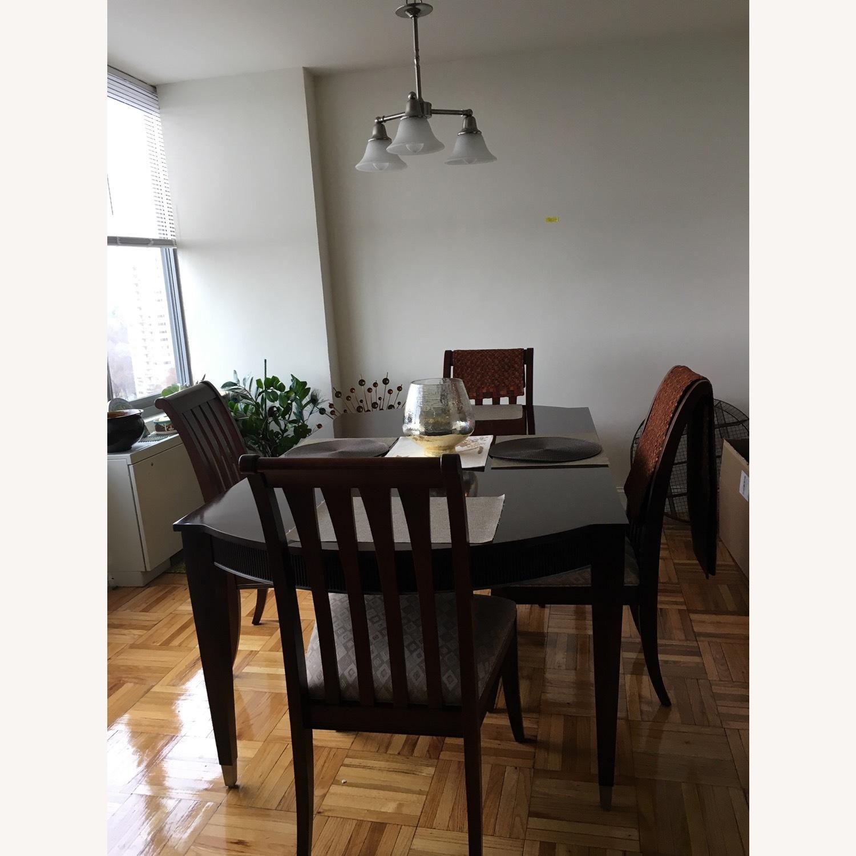 Ethan Allen Dining Table Aptdeco