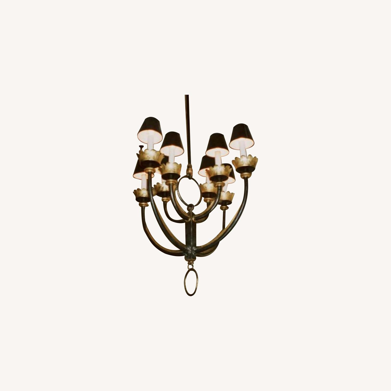 Mattaliano Hand Forged Wrought Iron Chandelier - image-3