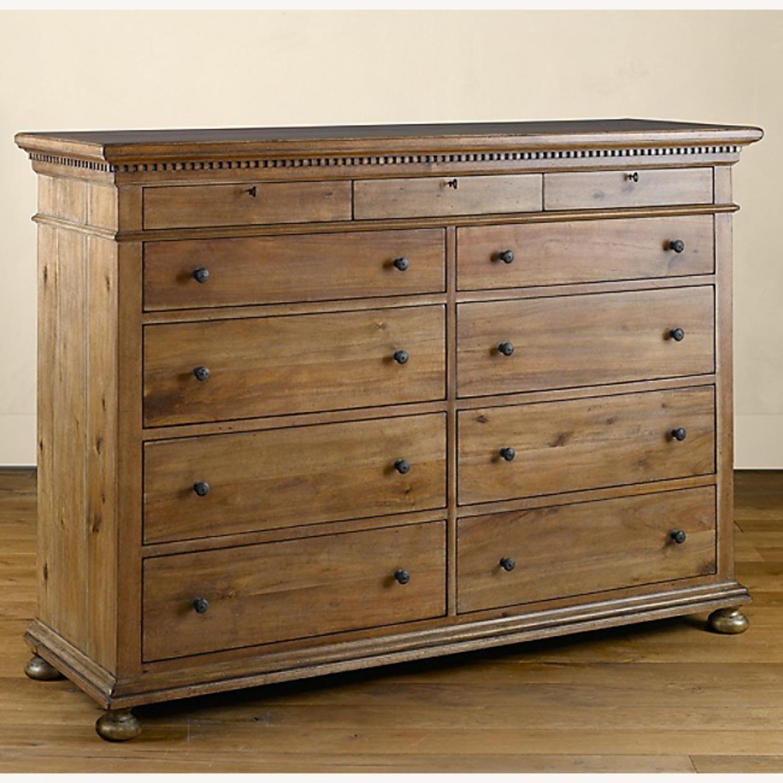 Restoration Hardware 11 Drawer Dresser - image-5