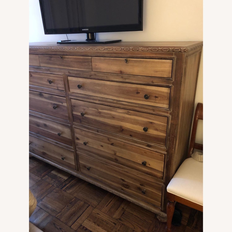 Restoration Hardware 11 Drawer Dresser - image-1