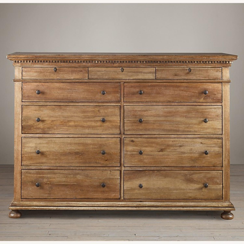 Restoration Hardware 11 Drawer Dresser - image-4
