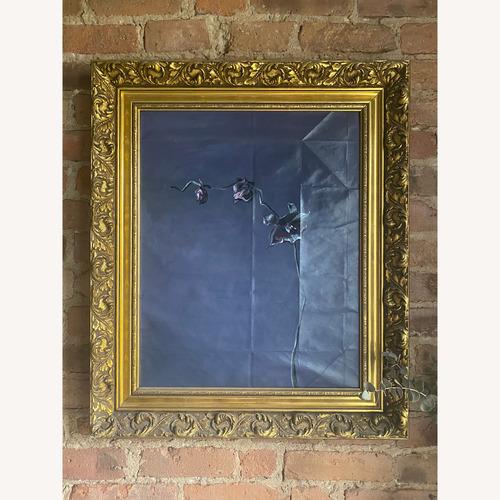 Used Ornate, Golden Vintage Picture Frame for sale on AptDeco