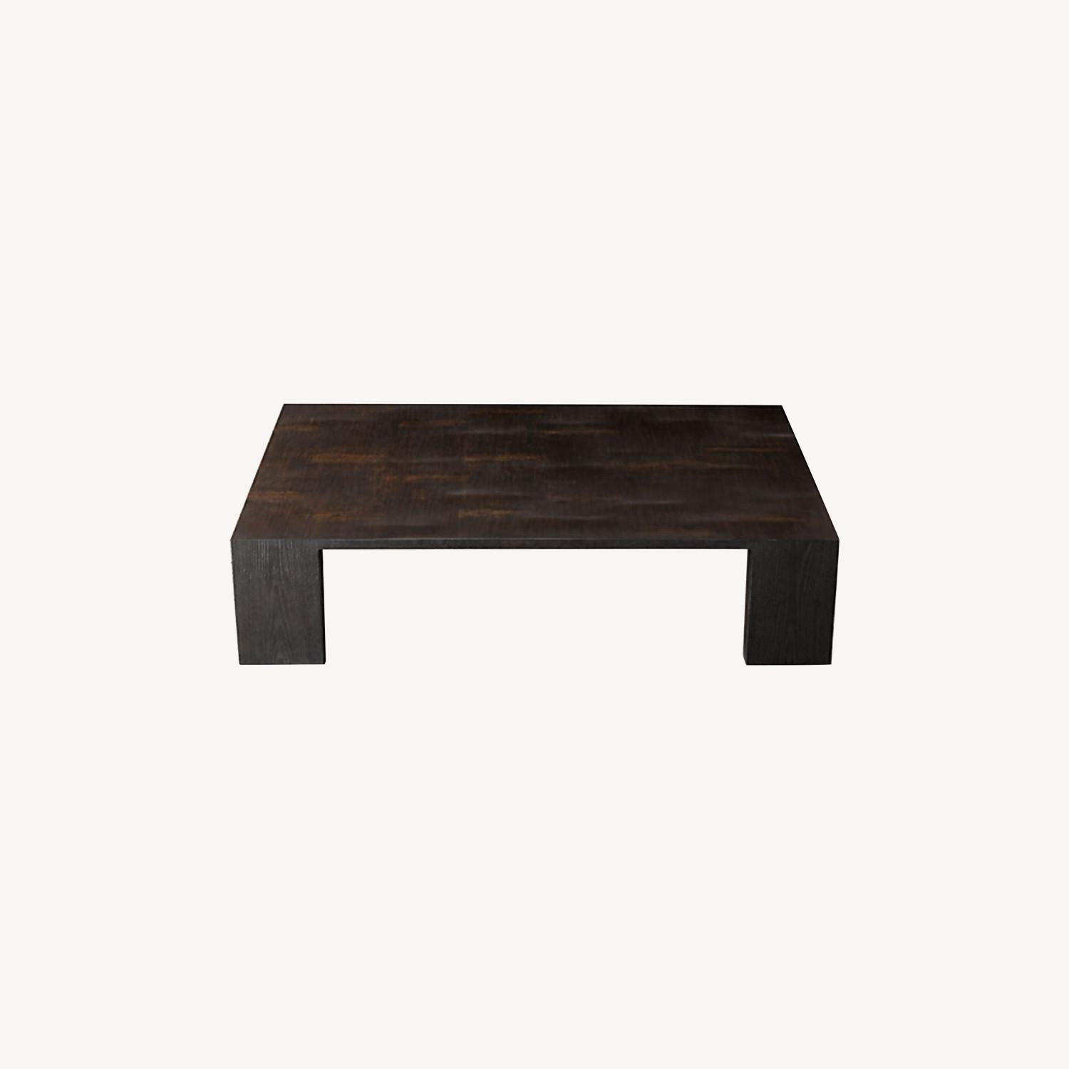 Restoration Hardware Wyeth Bamboo Rectangle Coffee Table - image-0