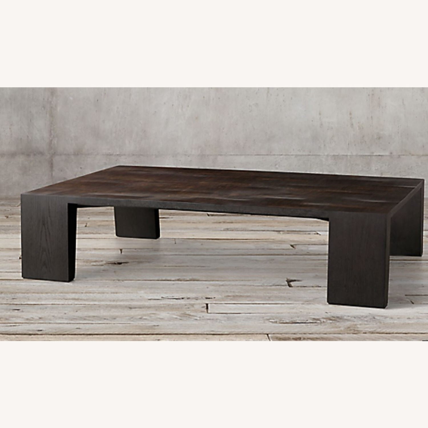 Restoration Hardware Wyeth Bamboo Rectangle Coffee Table - image-8