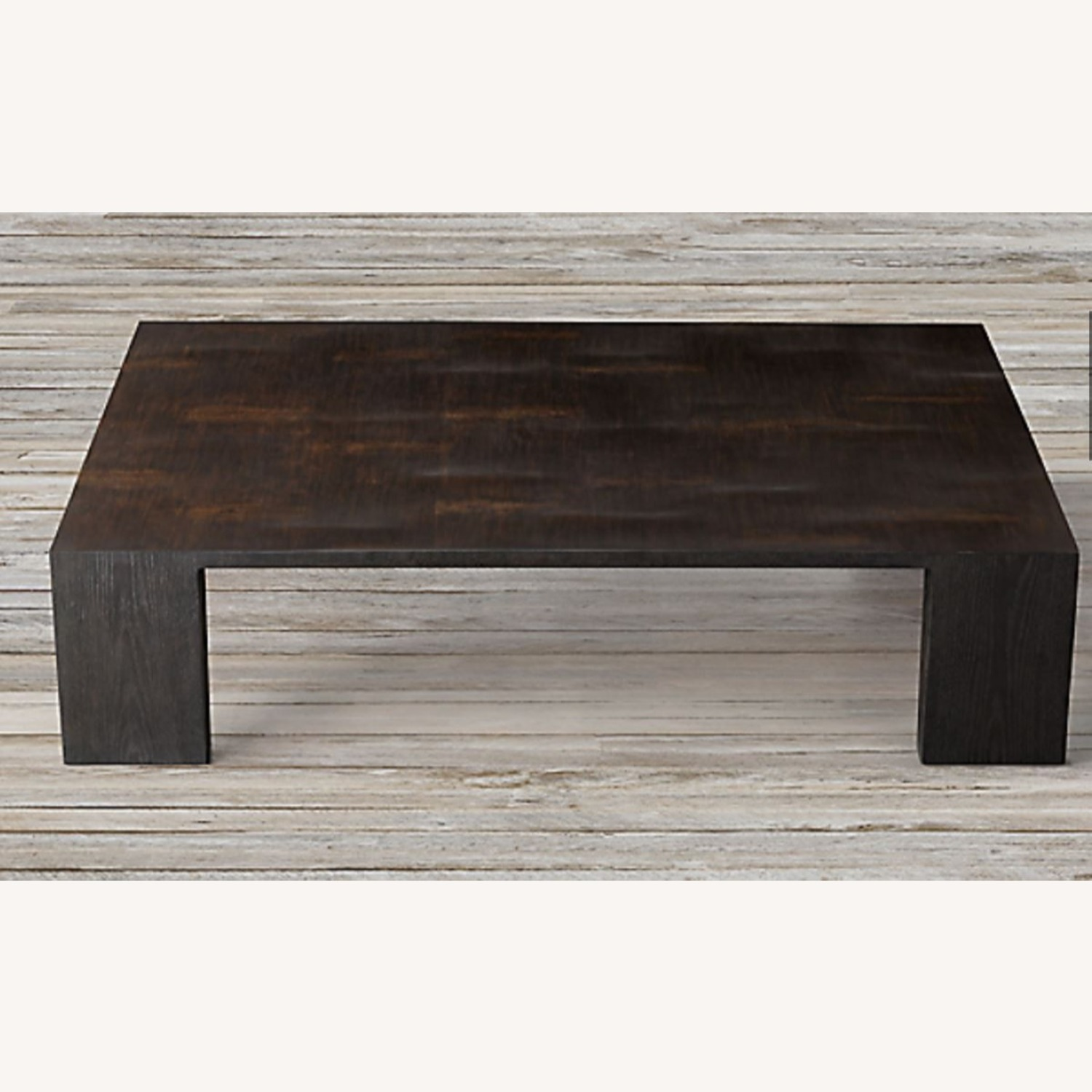 Restoration Hardware Wyeth Bamboo Rectangle Coffee Table - image-1