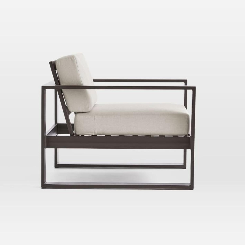 West Elm Portside Aluminum Outdoor Lounge Chair - image-2
