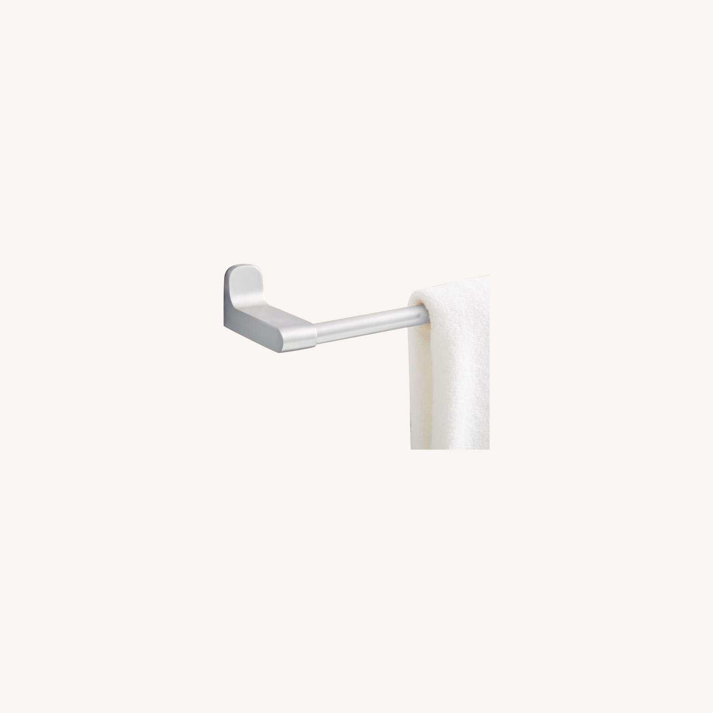 West Elm Towel Bar, Chrome - image-0