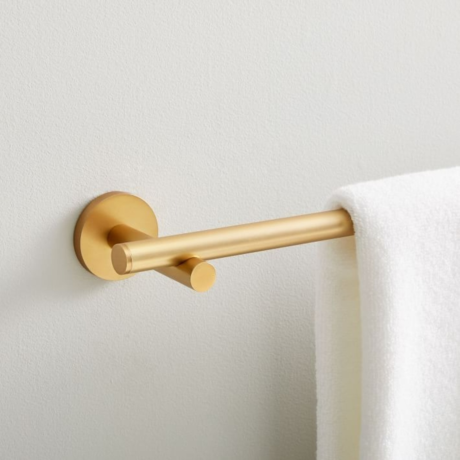 West Elm Modern Overhang Towel Bar - image-1