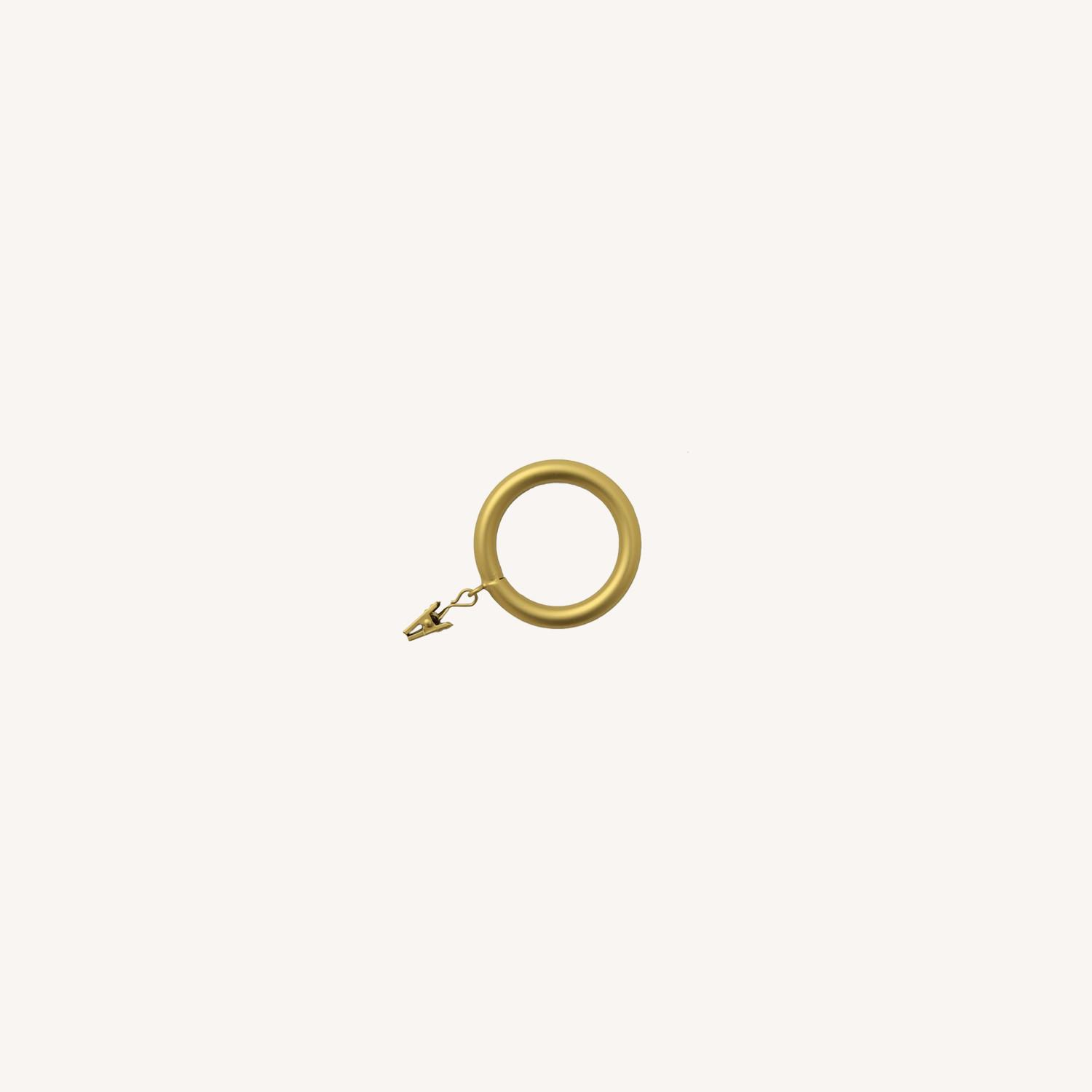 West Elm Oversized Metal Curtain Ring - image-0