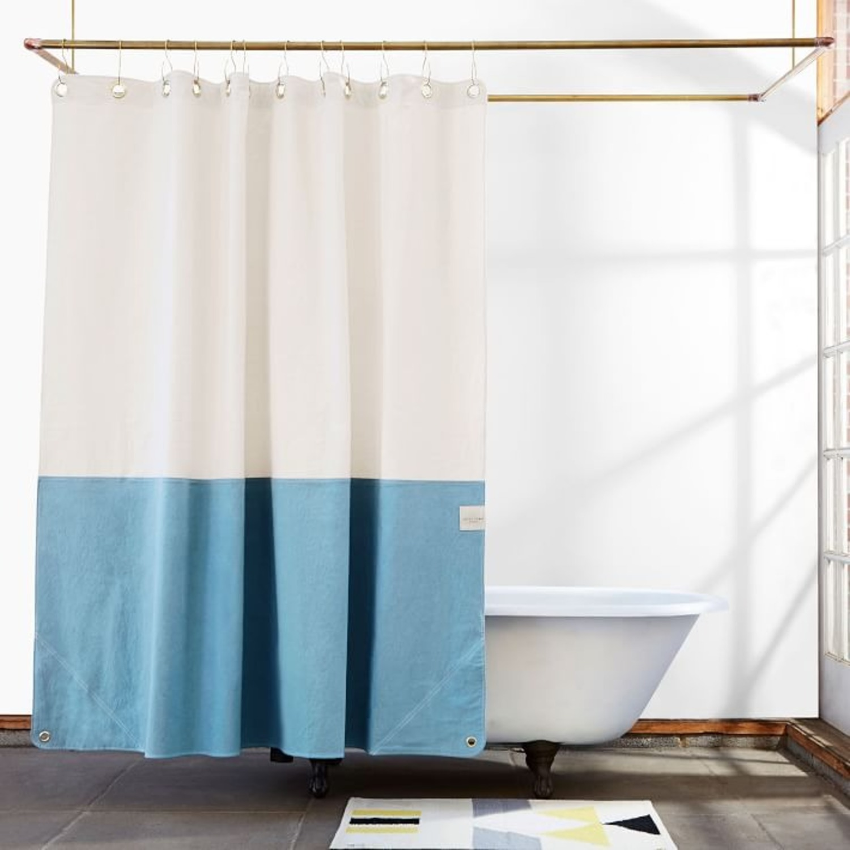 West Elm Quiet Town Home Orient Shower Curtain - image-1