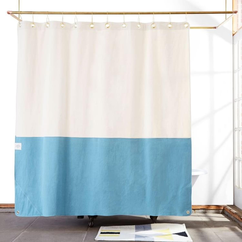 West Elm Quiet Town Home Orient Shower Curtain - image-3