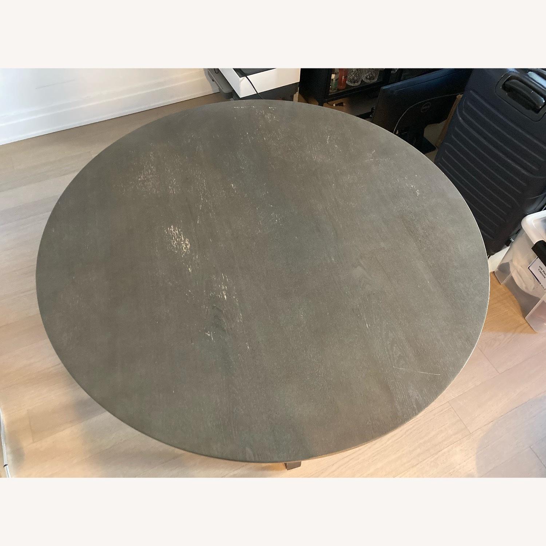 Crate & Barrel Circular Dinning Table - image-3